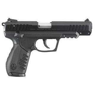 """Ruger SR22 22LR 4.5"""" Barrel W/ 3 Dot Sights 10+1 Black 3620"""