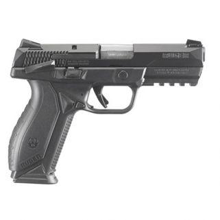 """Ruger American 9mm Luger 4.2"""" Barrel W/ Novak Sights 17+1 Black/Stainless 8608"""