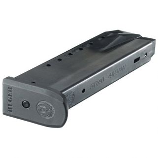 Ruger SR40 40S&W Magazine 15Rd Blued 90350