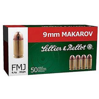 SB 9MMMAK 95GR FMJ 50/20 A00901