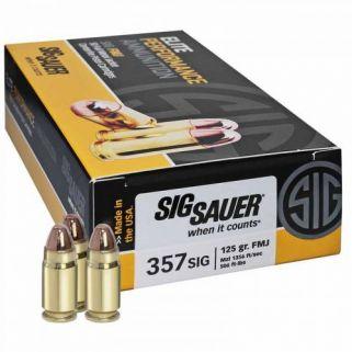 Sig Sauer Elite 357SIG 124GR 50Rd Box E357B1