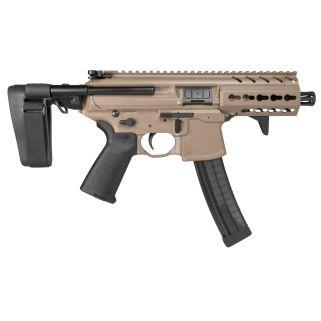 """Sig Sauer MPX 9mm 4.5"""" Barrel 30+1 FDE"""