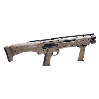 STD MFG DP-12 12GA DBL BBL PUMP SHOTGUN FDE