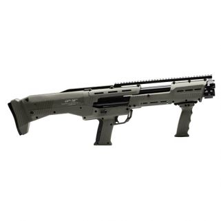 STD MFG DP-12 12GA DBL BBL PUMP SHOTGUN ODG