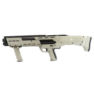 STD MFG DP-12 12GA DBL BBL PUMP SHOTGUN TAN