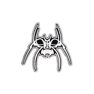 SPIKE'S SPIDER PATCH WHT/BLK