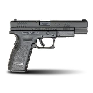 "Springfield Armory XD Tactical 40S&W 5"" Barrel W/ Dovetail-3 Dot Sights 10+1 Black XD9402"
