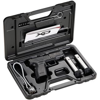 "Springfield Armory XD Full Size Essentials 45ACP 4"" Barrel W/ Dovetail-3 Dot Sights 10+1 Black XD9611"