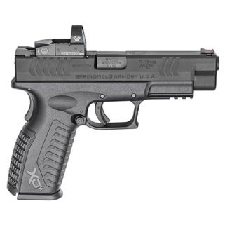"Springfield Armory XDM 9mm 4.5"" Barrel W/ Vortex Venom Red Dot-Fiber Optic Front-Combat Rear Sights 19+1 Black XDM9459BHCOSPV"