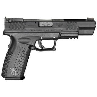 "Springfield Armory XDm Competition Essentials 45ACP 5.25"" Barrel W/ Fiber Optic Sights 10+1 Black XDM952545BE"