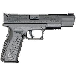 "Springfield Armory XDM Competition Essentials 9mm 5.25"" Barrel W/ Fiber Optic Sights 19+1 Black XDM95259BHCE"