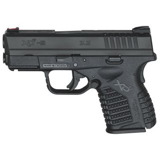 "Springfield Armory XDS 9mm 3.3"" Barrel 7+1/9+1 Black XDS9339BE"