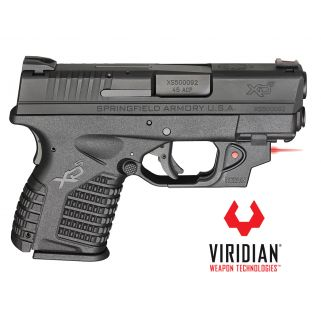 """Springfield Armory XDS 45ACP 3.3"""" Barrel w/ Viridian Red Laser 5+1 / 6+1 XDS93345BENV18"""
