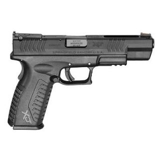 """Springfield Armory XDM Competition Striker Fired 45ACP 5.25"""" Barrel W/ Fiber Optic Front Sight 13+1 XDM952545BHCE"""