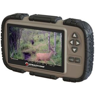 STEALTH CAM CARD READER VIEWER W/ 4.3 LCD SCREE
