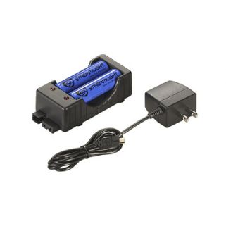 STRMLGHT 18650 CHARGER KIT 120V W/BA