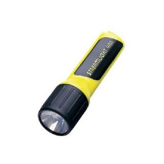 STREAM PRO POLYMER 4AA LED YELLOW W/BATTERIES