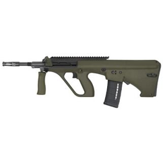 "Steyr AUG A1 223 Remington/5.56NATO 16"" Barrel W/ Long Picatinny Rail 30+1 Green Synthetic-NATO Stock AUGM1GRNNATOL2"
