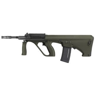 "Steyr AUG A1 223 Remington/5.56NATO 16"" Barrel W/ Short Picatinny Rail 30+1 Green Synthetic-NATO Stock AUGM1GRNNATOS"