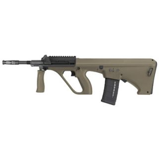"Steyr AUG A1 223 Remington/5.56NATO 16"" Barrel W/ Short Picatinny Rail 30+1 Mud Synthetic-NATO Stock AUGM1MUDNATOS"