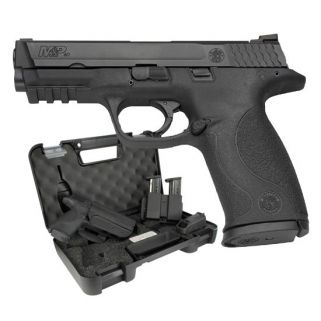 "Smith & Wesson M&P40 40S&W 4.25"" Barrel W/ Dovetail Sights 10+1 Range Kit *MA Compliant* 139350"
