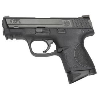 "Smith & Wesson M&P9 Compact 9mm 3.5"" Barrel W/ Dovetail Sights 12+1 Black 2093004"
