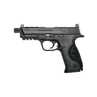 "Smith & Wesson M&P Performance Center 9mm 4.25"" Threaded Barrel 17+1 Fixed Sights 10267"