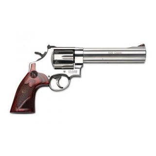 "Smith & Wesson 629 Deluxe 44 Magnum 6.5"" Barrel 6Rd Wood Grip/Stainless 150714"