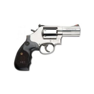 "Smith & Wesson 686 Plus Deluxe 357 Magnum 3"" Barrel 7Rd Wood Grip/Stainless 150853"