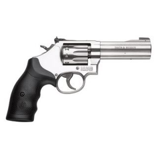 "Smith & Wesson 617 22LR 4"" Barrel 10Rd Rubber Grip/Stainless 160584"