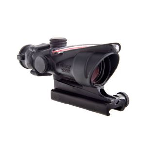 Trijicon ACOG 4x32 Red Dual Illuminated .223 Chevron Reticle w/ TA51 Mount TA31F