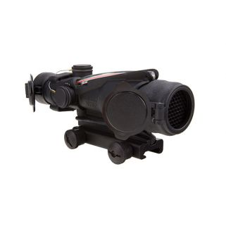 Trijicon ACOG 4x32 Dual Illuminated Red Chevron ARMY Rifle Combat Optic (RCO) M150 w/ TA51 Mount TA31RCO-M150CP