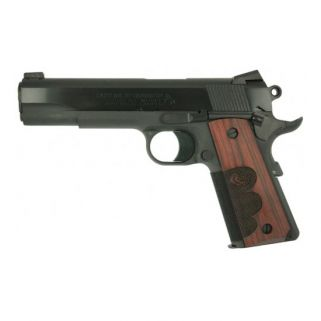 "Colt Talo 1911 45ACP 5"" Barrel W/ Fixed Sights 7+1 Wood Grips/Black O1911WC"