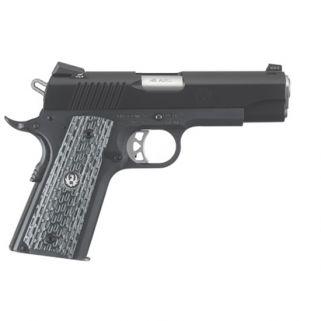 """Ruger SR1191 45ACP 4.25"""" Barrel 7+1 Black Nitride/Anodized Aluminum 6720"""