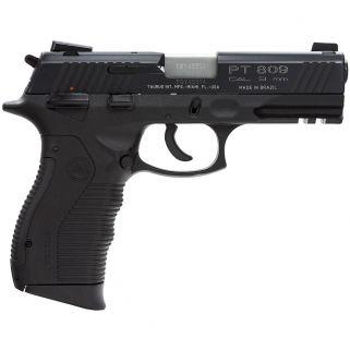 """Taurus PT809 9mm 4"""" Barrel W/ Novak Sights 17+1 1809041"""