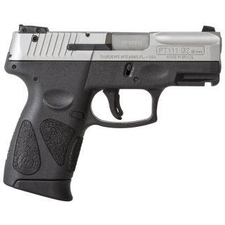 "Taurus PT111 Millennium G2 9mm 3.2"" Barrel 12+1 Stainless Slide 1111039G212"