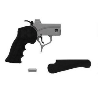 Thompson Center Pro Hunter Pistol Frame Black Rubber Grip/Stainless 08151876