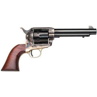 """Taylor's & Co The Ranch Hand 22LR 5.5"""" Barrel W/ Blade Front Sight 6Rd Walnut Grip/Blued 0471"""
