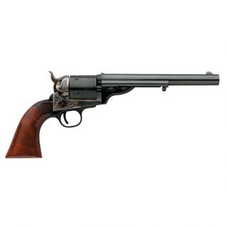"""Taylor's & Co Open Top Army 45 Colt 7.5"""" Barrel W/ Blade Front Sight 6Rd Walnut Grip/Blued 0916"""