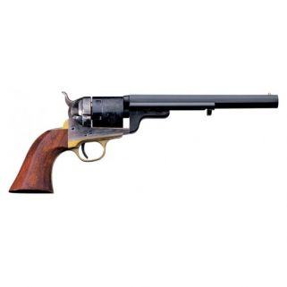 """Taylor's & Co 1851 Navy 38 Special 7.5"""" Barrel W/ Brass Post Front Sight 6Rd Walnut Grip/Blued 0925"""