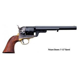 """Taylor's & Co 1851 Navy 38 Special 5.5"""" Barrel W/ Brass Post Front Sight 6Rd Walnut Grip/Blued 0926"""