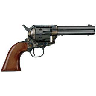 "Taylor's & Co Cattleman 22LR 4.75"" Barrel W/ Blade Front Sights 12Rd Walnut Stock/Blued 4051"