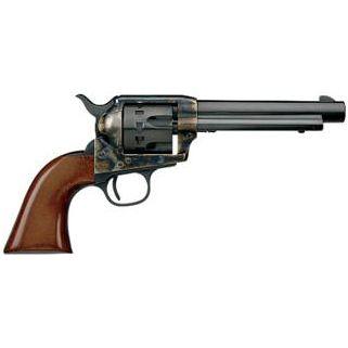 "Taylor's & Co Cattleman 22LR 5.5"" Barrel W/ Blade Front Sights 12Rd Walnut Grip/Blued 4052"