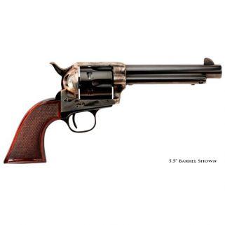 "Taylor's & Co The Smoke Wagon 357 Magnum 4.75"" Barrel W/ Widened Blade Sights 6Rd Walnut Grip/Blued 4107DE"