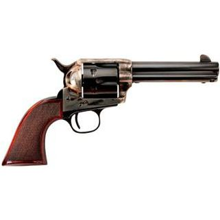 """Taylor's & Co The Smoke Wagon 45 Colt 4.75"""" Barrel W/ Widened Front Blade Sight 6Rd Walnut Stock/Blued 4109"""
