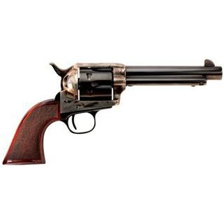 """Taylor's & Co The Smoke Wagon 45 Colt 5.5"""" Barrel W/ Widened Front Blade Sight 6Rd Walnut Grip/Blued 4110"""