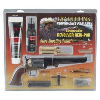 TRAD 1858 ARMY 44CAL REDI PACK BRASS BLUED
