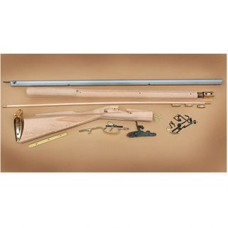 TRAD KENTUCKY RIFLE KIT 50CAL 33.5 WHITE HARDWO