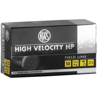 RWS 22LR HIGH VEL HP 40GR 50/5000