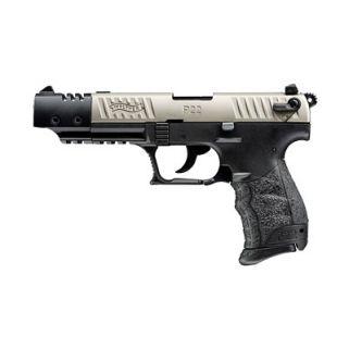 "Walther P22 22LR 3.4"" Barrel Nickel Target *CA Compliant* 5120337"